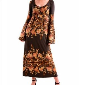 Fee people maxi dress